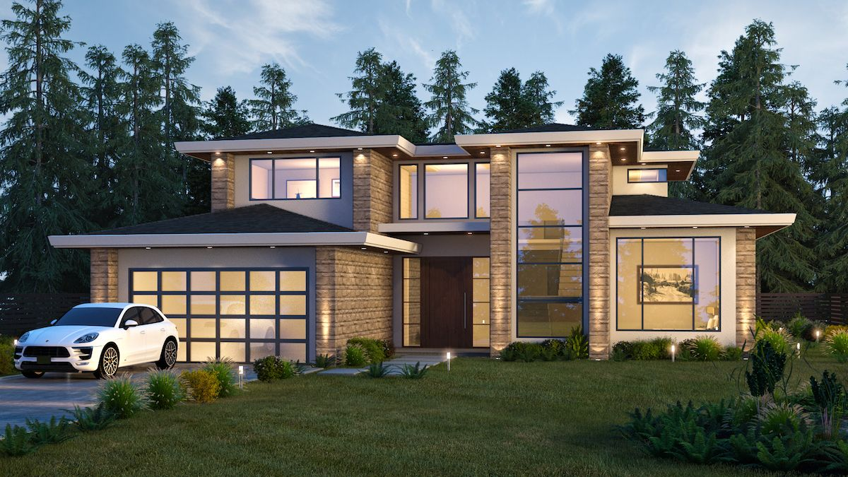 5,000 sqft North Vancouver Home