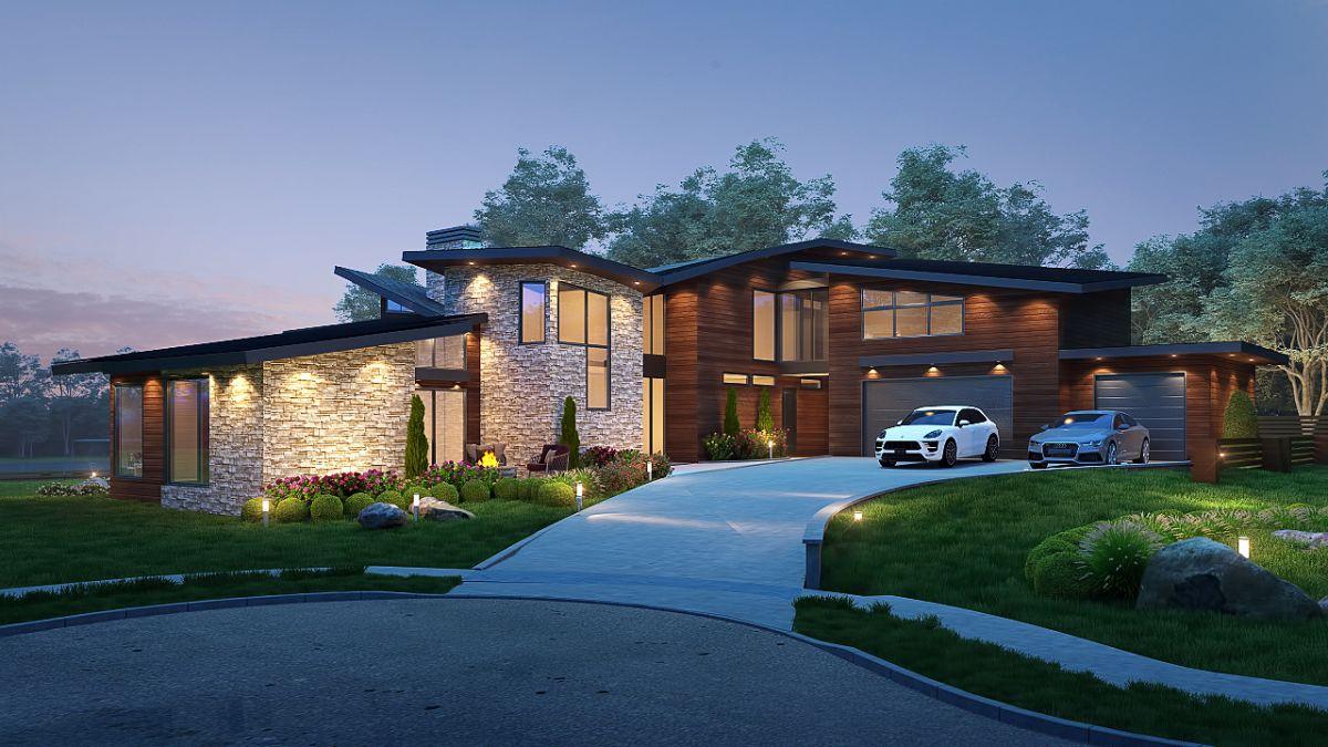 3,500 sqft Harrison Lake Home