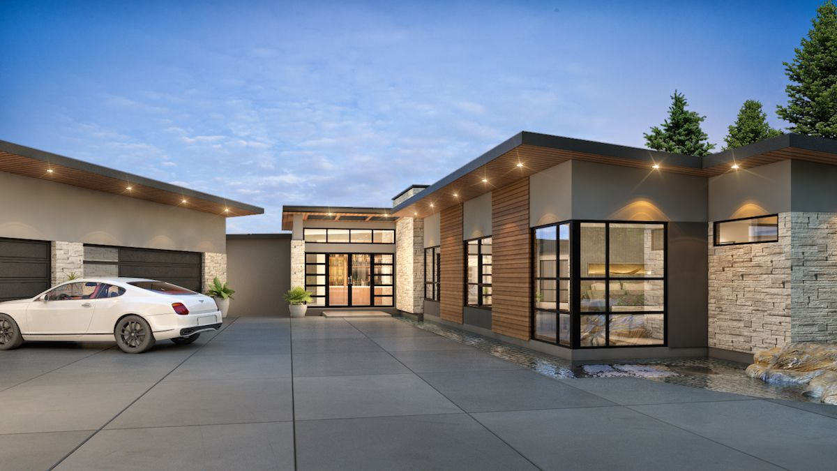 7,000 sqft Belcarra Home (detail)
