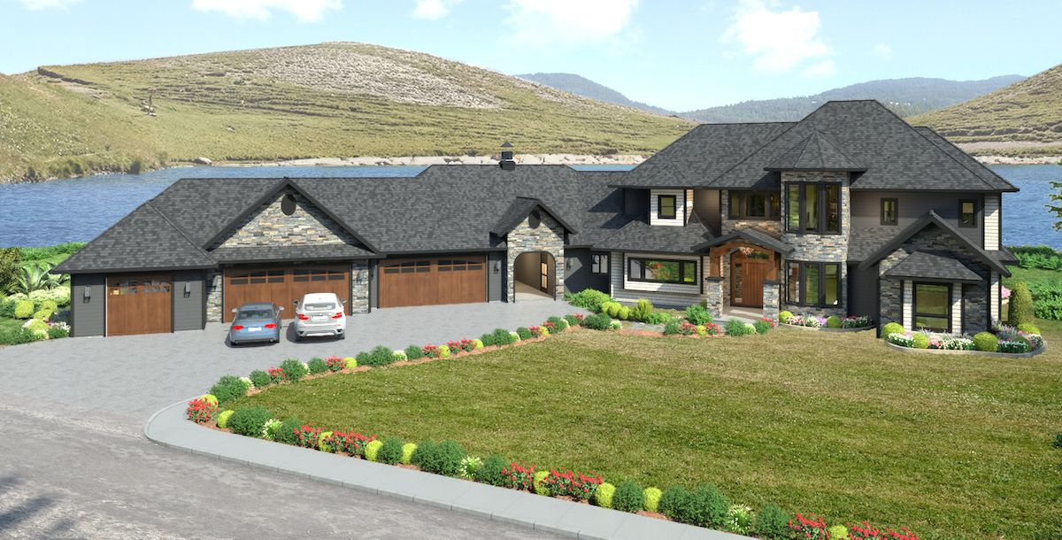 4,400 sqft Lake Country Home