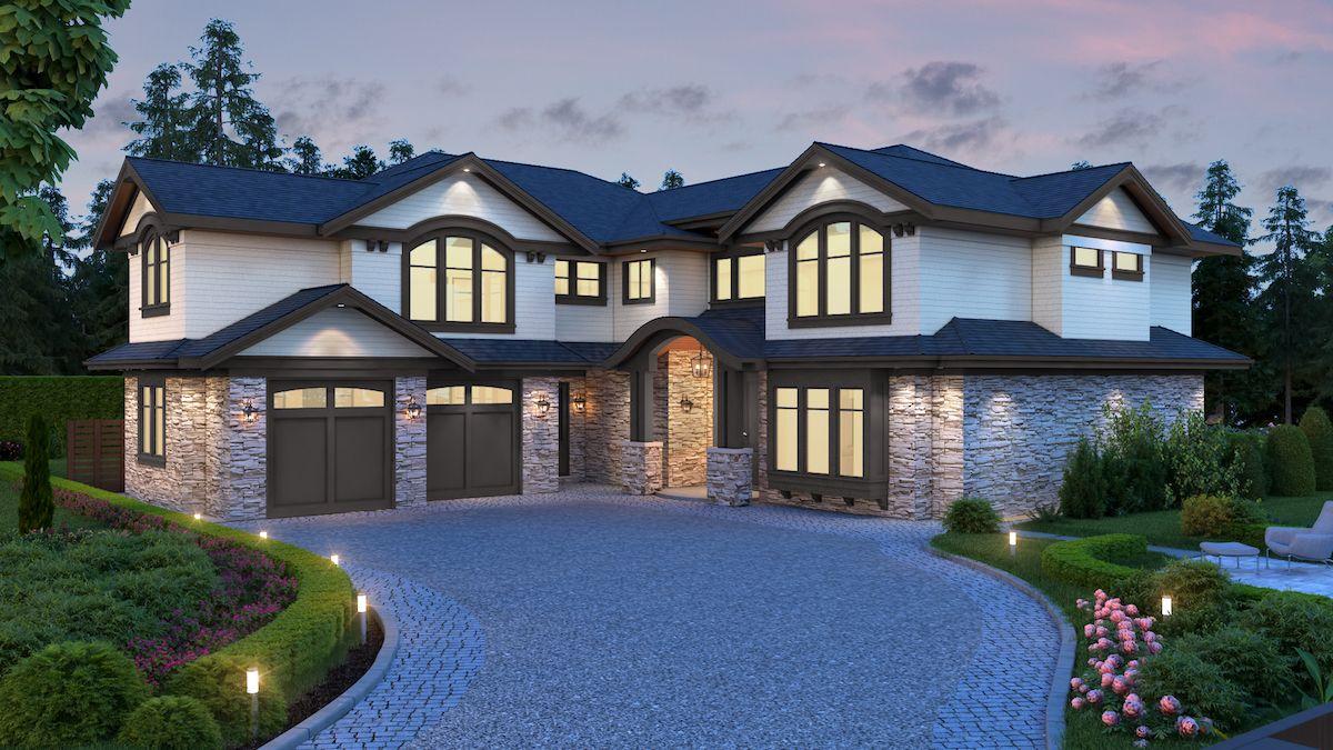 5,500 sqft Richmond Home (front)
