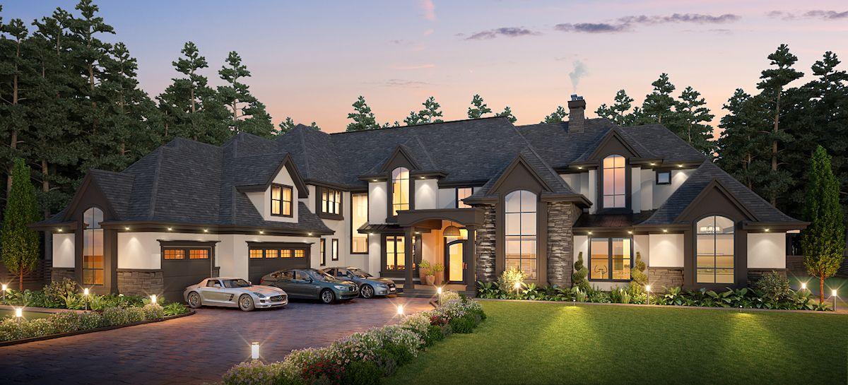 9,300 sqft Surrey Home