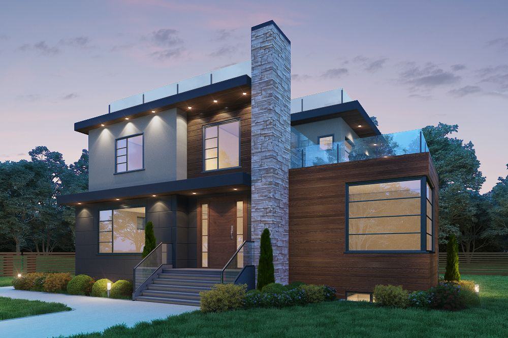 4,100 sqft Vancouver Home (front)