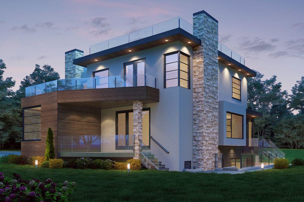4,100 sqft Vancouver Home (back)