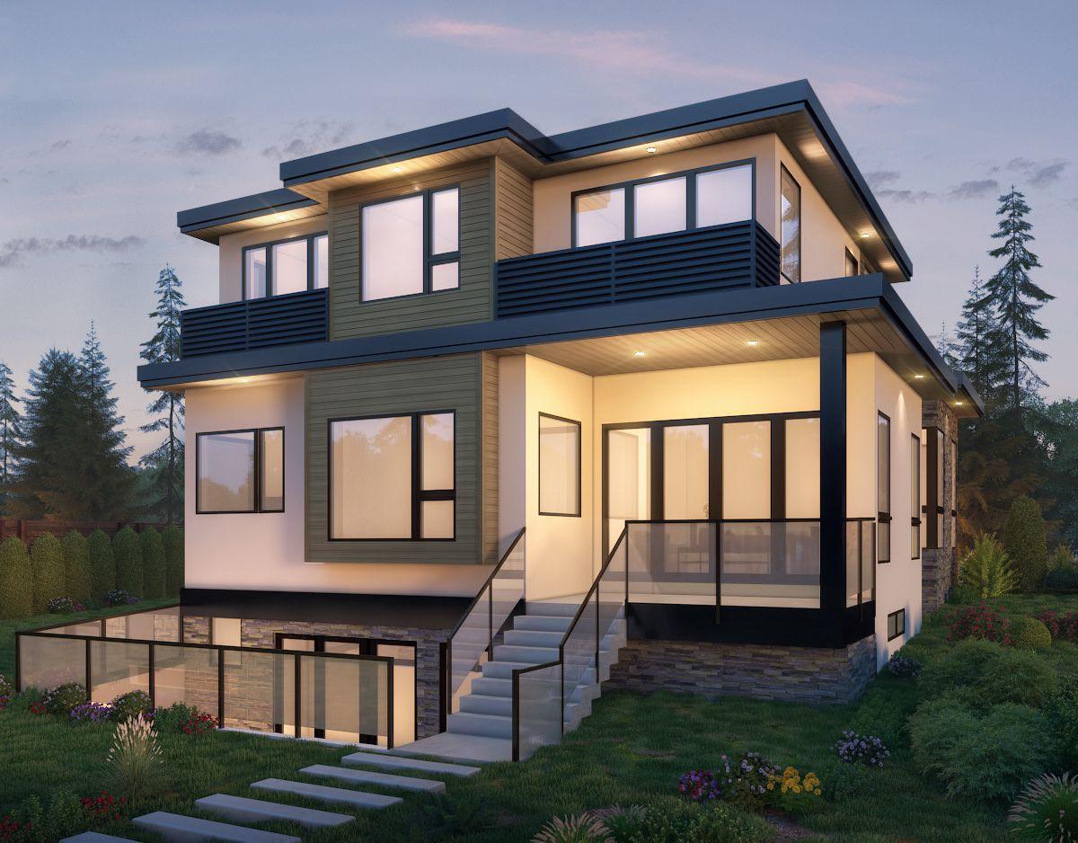 3,900 sqft Vancouver Home (back)