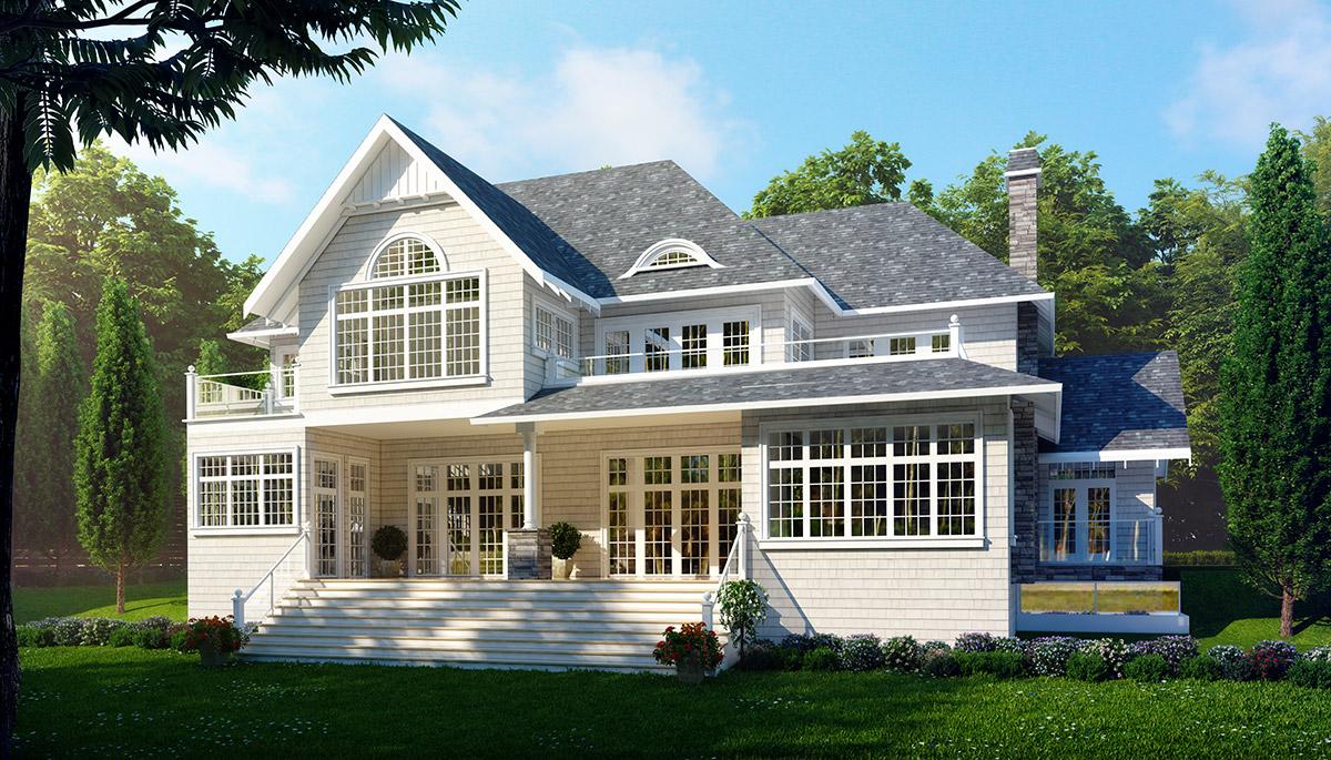4,000 sqft White Lake Home (back)