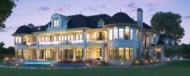 11,000 sqft Tsawwassen Beach Home (back)