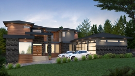 7,900 sqft Panorama Ridge Home
