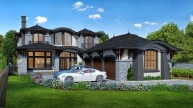 7,000 sqft South Surrey Home (front)