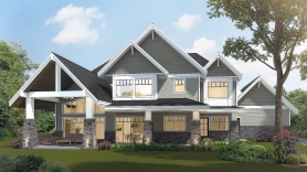 7,500 sqft Surrey Home (back)