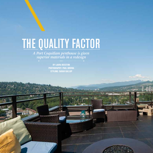 Vancouver Home Magazine - Feature Home 2014