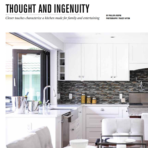 Vancouver Home Magazine - Feature Kitchen 2014