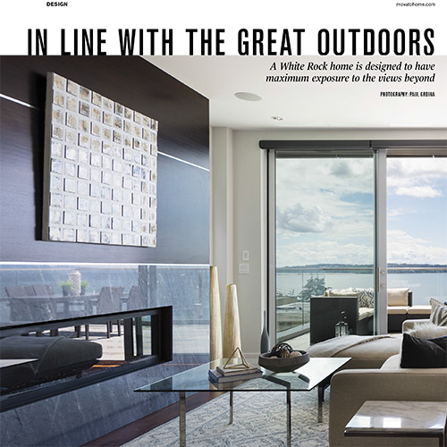 Vancouver Home Magazine - Feature Home 2017