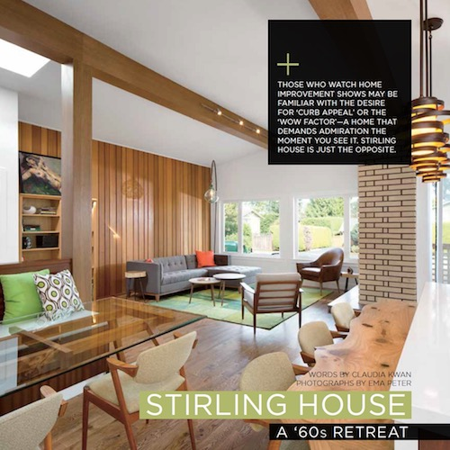 Homes & Living Magazine - Feature Home 2014