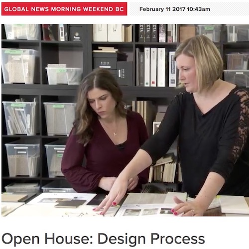 Global News - Open House; Design Process