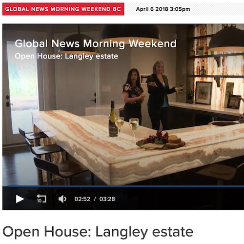 Global News - Open House; Langley Estate