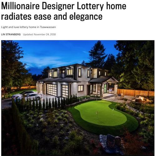 Media room design interior design - Millionaire designer home lottery ...