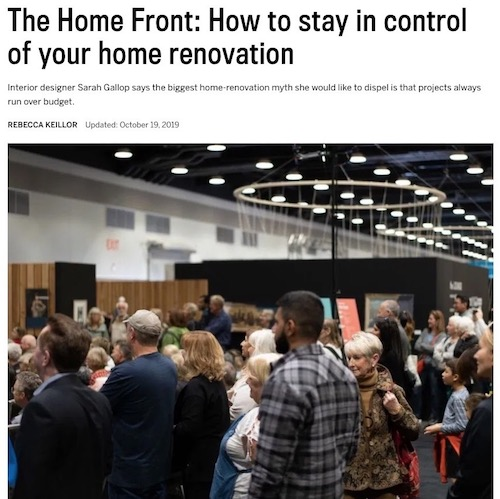 Vancouver Sun - How to Stay in Control 2019